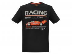 Stefan Bellof Porsche 956B T-Shirt Norisring trofæ 200 miles Norisring 1985 schwarz