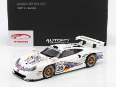 保时捷 911 GT1 #26 勒芒24小时耐力赛1997年 车手:Collard, Kelleners, Dalmas 1:18 奥托 AUTOart