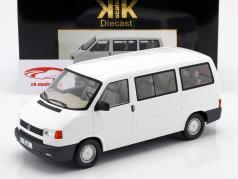 Volkswagen VW T4 bus Caravelle Opførselsår 1992 hvid 1:18 KK-Scale