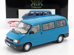 Volkswagen VW T4 autobús Caravelle año de construcción 1992 turquesa 1:18 KK-Scale
