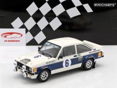 Ford Escort RS 1800 #6 gagnant Rallye acropole 1977 Waldegaard, Thorszelius 1:18 Minichamps