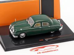 Jaguar Mark I anno di costruzione 1957 verde scuro 1:43 Ixo