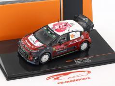 Citroen C3 WRC #10 Rallye Portogallo 2018 Meeke, Nagle 1:43 Ixo