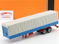 Truck Trailer med presenning blå / grå 1:43 Ixo
