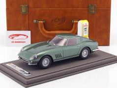 Ferrari 275 GTB año de construcción 1964 Personal Car Battista Pininfarina con escaparate y Caja de cuero 1:18 BBR