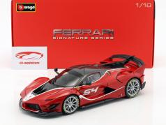 Ferrari FXX-K Evoluzione #54 赤 1:18 Bburago Signature