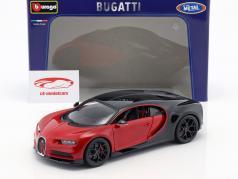 Bugatti Chiron Sport 16 赤 / 黒 1:18 Bburago