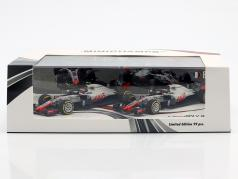 Grosjean #8 & Magnussen #20 2-Car Set Haas VF-18 公式 1 2018 1:43 Minichamps