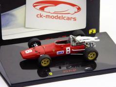 C. Amon Ferrari 312 F1-67 #8 British GP Silverstone Formel 1 1967 1:43 HW Elite