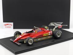 Gilles Villeneuve Ferrari 126 C2 #27 formula 1 1982 1:12 GP Replicas