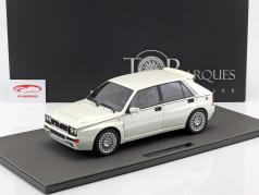 Lancia Delta Integrale Evolution II year 1995 pearl white 1:12 TopMarques