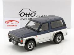 Nissan Patrol GR year 1992 blue metallic / silver 1:18 OttOmobile
