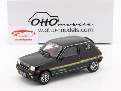 Renault 5 Le Car Van year 1980 black 1:18 OttOmobile