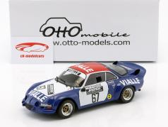 Alpine A110 #67 gruppe 5 Rallye Cross 1977 hold Vialle 1:18 OttOmobile