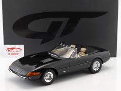 Ferrari 365 GTB/4 Daytona Spyder anno di costruzione 1972 nero 1:12 GT-Spirit