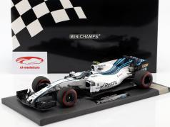 Lance Stroll Williams FW40 #18 Abu dhabi GP formule 1 2017 1:18 Minichamps