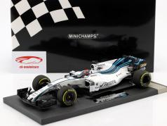 Robert Kubica Williams FW40 #40 test voiture Abu Dhabi GP F1 2017 1:18 Minichamps