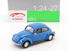 Volkswagen VW Beetle Ano 1959 azul 1:24 Welly
