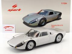 Porsche 904 GTS Année 1964 argent 1:12 Spark