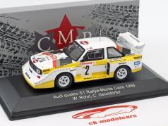 Audi Quattro Sport E2 #2 4 Rallye Monte Carlo 1986 Röhrl, Geistdörfer 1:43 CMR