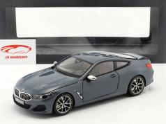 BMW 8 Series coupe year 2019 Barcelona blue metallic 1:18 Norev