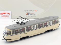 Tatra T4 Straßenbahn Leipziger Verkehrsbetriebe beige 1:43 Premium ClassiXXs