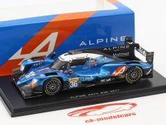 Alpine A470 #36 24h LeMans 2017 Dumas, Menezes, Rao 1:43 Spark