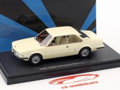 BMW 2200ti Garmisch Bertone anno di costruzione 1970 bianco 1:43 AutoCult