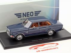 Volvo 164 Baujahr 1968 dunkelblau 1:43 Neo