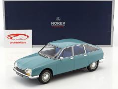 Citroen GS Club Bouwjaar 1972 camargue blauw 1:18 Norev