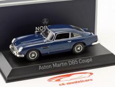 Aston Martin DB5 coupe Opførselsår 1964 nat blå 1:43 Norev