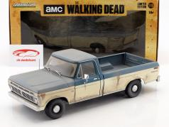 Ford F-100 Pick-Up Bouwjaar 1973 tv-serie The Walking Dead (sinds 2010) 1:18 Greenlight