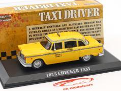 Checker Taxi année de construction 1975 film Taxi Driver (1976) jaune 1:43 Greenlight