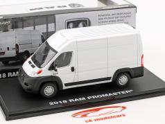 Ram ProMaster 2500 Cargo Kastenwagen Baujahr 2018 weiß 1:43 Greenlight