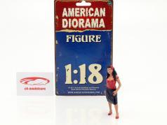 Hanging Out 2 Rosa figura 1:18 American Diorama