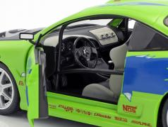 Brian's Mitsubishi Eclipse année de construction 1995 film Fast and Furious (2001) vert 1:18 Greenlight