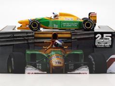 Michael Schumacher Benetton B192 #19 4 ° Monaco GP formula 1 1992 1:18 Minichamps