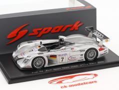 Audi R8 #7 3ª 24h LeMans 2000 Abt, Alboreto, Capello 1:43 Spark
