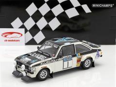 Ford Escort RS 1800 #1 winnaar RAC Rallye 1975 Mäkinen, Liddon 1:18 Minichamps