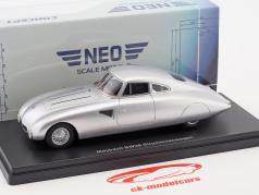 Maybach SW38 Streamlined car year 1939 silver 1:43 Neo