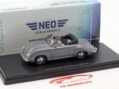 Volkswagen VW Dannenhauer und Stauss cabriolet année de construction 1951 gris 1:43 Neo