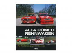 Livro: Alfa Romeo Automóvel de corrida - Tudo Racecars de 1911 para hoje