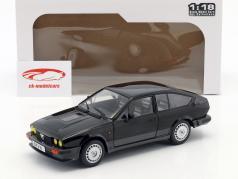 Alfa Romeo GTV6 año de construcción 1984 negro 1:18 Solido