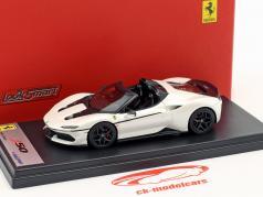 Ferrari J50 Roadster anno di costruzione 2016 liana bianco 1:43 LookSmart