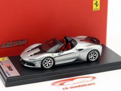 Ferrari J50 Roadster année de construction 2016 argent métallique 1:43 LookSmart