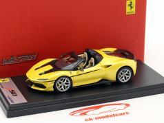 Ferrari J50 Roadster Bouwjaar 2016 tristrato geel 1:43 LookSmart