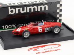 Richie Ginther Ferrari 156 F1 #6 Itália GP fórmula 1 1961 1:43 Brumm