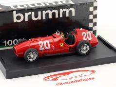 Alberto Ascari Ferrari 375 #20 Switzerland GP formula 1 1951 1:43 Brumm