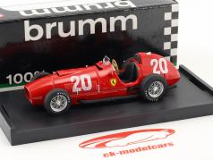 Alberto Ascari Ferrari 375 #20 Zwitserland GP formule 1 1951 1:43 Brumm