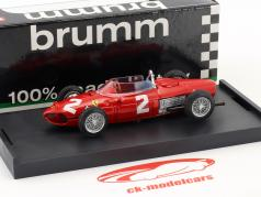 Phil Hill Ferrari 156 F1 #2 mundo campeón Italia GP fórmula 1 1961 1:43 Brumm